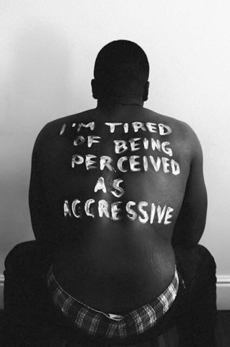 """I'm tired of being perceived as aggressive."""